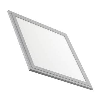 Panel LED ultrafino 30x30 cuadrado 1500lm plata