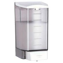 Dispensador jabón 1,1L blanco pulsador Mediclinics