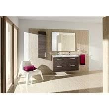 Mueble 120cm cuatro cajones blanco-fresno Prisma Roca