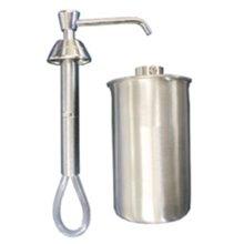 Dispensador jabón 0,5L gris encastrado Mediclinics