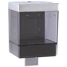 Dispensador jabón 1,1L pulsador negro Mediclinics