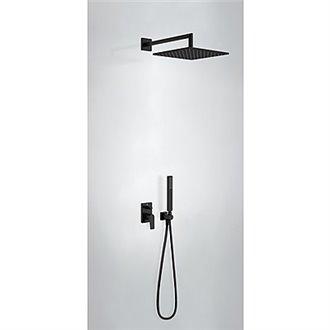 Kit de ducha monomando negro PROJECT TRES