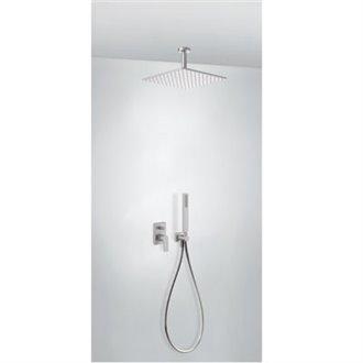 Kit de ducha monomando acero 80 PROJECT TRES