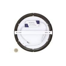 Plafón LED de techo redondo Ø22'5x4cm 18W plata