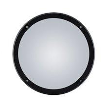 Plafón LED redondo IP65 Ø30x9cm negro
