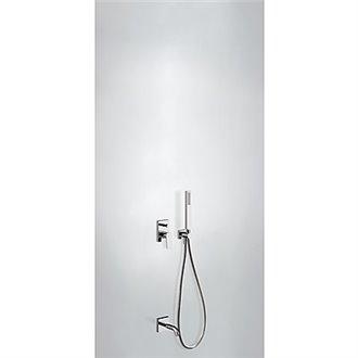 Kit de baño y ducha monomando acero PROJECT TRES