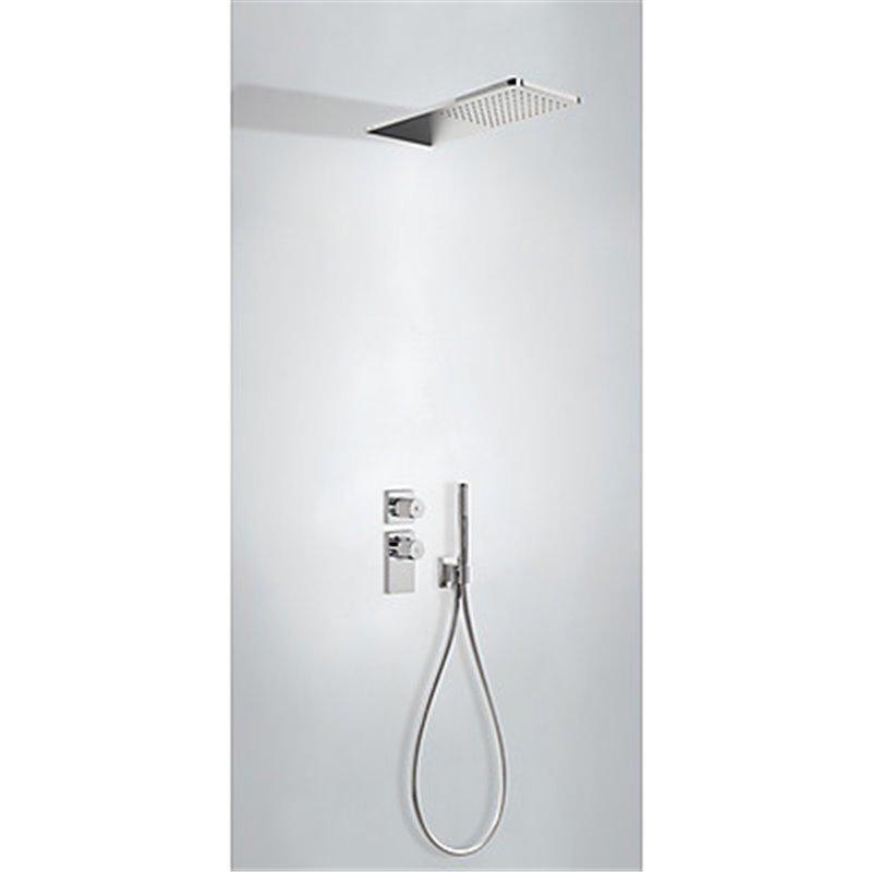 Kit de ducha termostático empotrado 02 PROJECT TRES