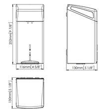 Dispensador gris toallitas higiénicas Mediclinics