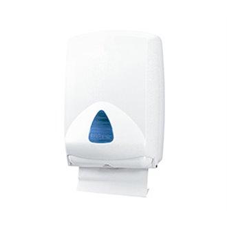 Dispensador papel toalla plegada ABS Mediclinics