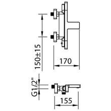Grifo baño-ducha termostático Nine Xtreme