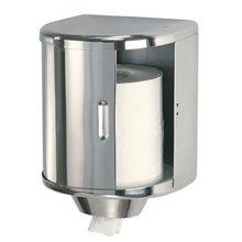 Dispensador toalla bobina 25cm gris Mediclinics