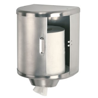 Dispensador toalla bobina gris 25cm Mediclinics