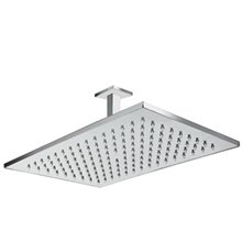 Rociador ducha rectangular con brazo a techo TRES
