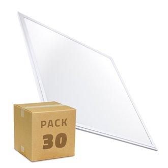 Pack x30 Panel LED ultrafino 60x60 2800lm