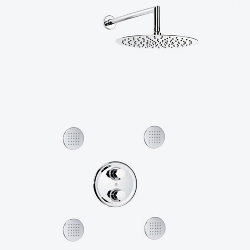 Conjunto ducha termost extraplano DELTA