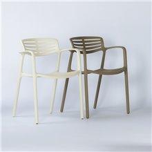 Conjunto de 2 sillas marfil Toledo Aire Resol