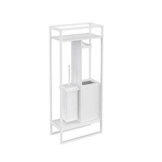 Mueble con papelera blanco the grid COSMIC