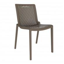 Set de 2 sillas chocolate Netkat Resol