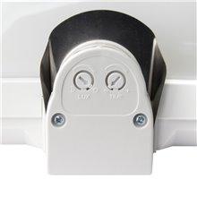 Plafón LED detector presencia IP44 26x10x19cm E27