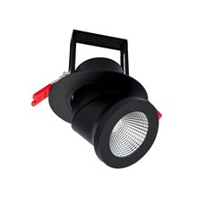 Foco LED direccionable IP44 Ø14'5x15'4cm 25W negro