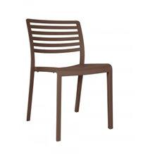 Set de 2 sillas chocolate Lama Resol