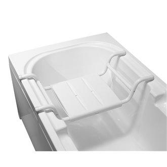 Asiento bañera acero Tubocolor Mediclinics