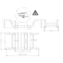 Asiento bañera extensible Tubocolor Mediclinics