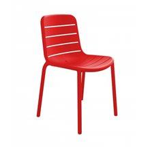 Pack de 2 sillas rojas apilables Gina Resol