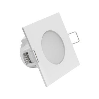 Foco LED Downlight IP54 8'3x8'3x5cm 5W blanco