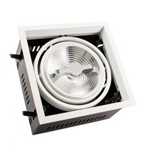 Foco LED Cree-Cob direccionable 17x17x10cm 15W