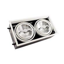 Foco LED Cree-Cob direccionable 32x17x10cm 30W