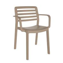 Juego de 4 sillas con brazos arena Wind Resol