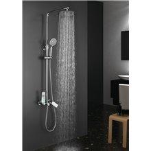Conjunto de ducha monomando Dual Round Llavisan