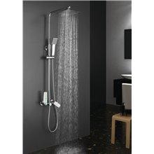 Conjunto de ducha monomando Dual Quad Llavisan
