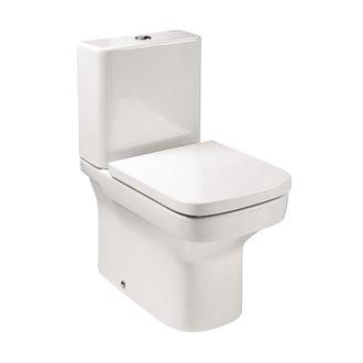 Inodoro completo cisterna compacta pergamón Dama Roca