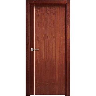 Puerta Interior Lisa Moderna Sapelly L1g1b