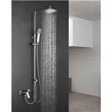 Conjunto de ducha sin grifería Quad Llavisan