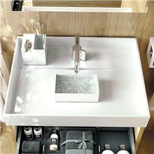 Lavabo con contenedor the grid COSMIC