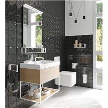 Mueble con estante 60cm roble the grid COSMIC
