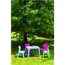 Pack de 4 mesas infantiles azul cielo Jan Resol