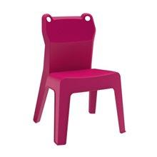 Juego de 4 sillas infantiles en fucsia Jan Frog Resol