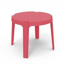 Pack de 4 mesas infantiles rojas Rita Resol