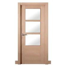 Puerta interior vidriera MODERNA HAYA L4-3V