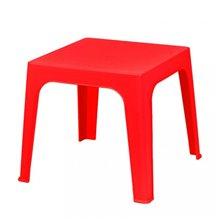 Set de 4 mesas infantiles rojas Julieta Resol