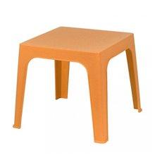 Pack de 4 mesas infantiles naranja Julieta Resol