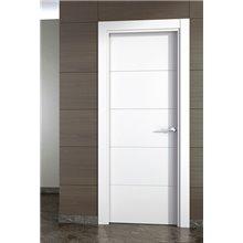 Puerta interior lisa LACADA BLANCA PVT5