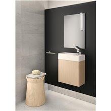 Mueble con lavabo izquierda 1 puerta Fancy COSMIC