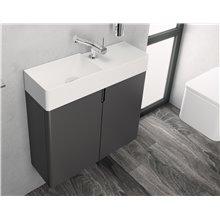 Mueble con lavabo derecha 2 puertas Fancy COSMIC