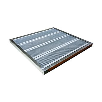 Base para ducha solar de acero - Gardiun