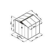 Caseta metálica 3,64m² Manchester Gardiun